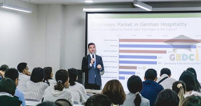 บรรยากาศงานแนะแนวทางการศึกษาต่อที่ประเทศเยอรมนี