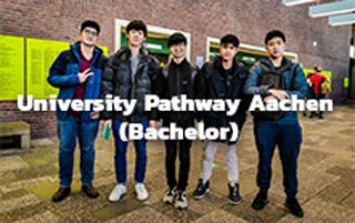 เรียนปริญญาตรีที่ประเทศเยอ รมันภาคภาษาเยอรมันที่เมือง Aachen